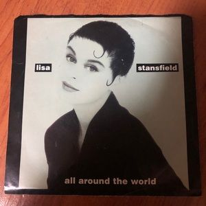 Vintage Lisa Stainsfield 45 single vinyl record